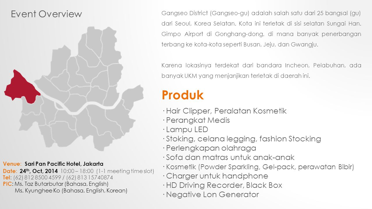 Event Overview Siapa yang harus berpartisipasi.