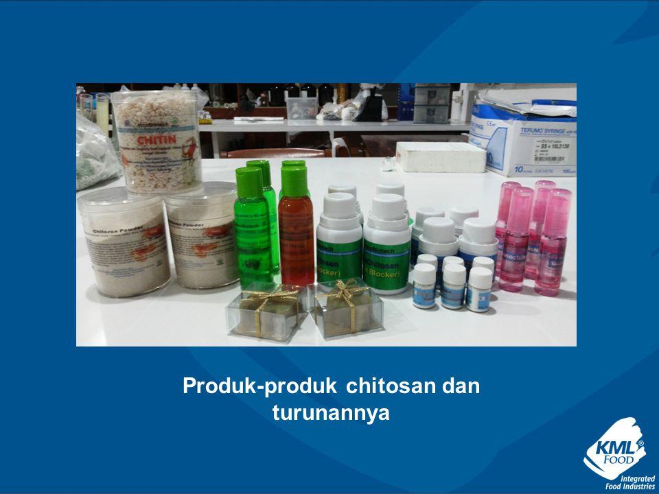 Produk-produk chitosan dan turunannya