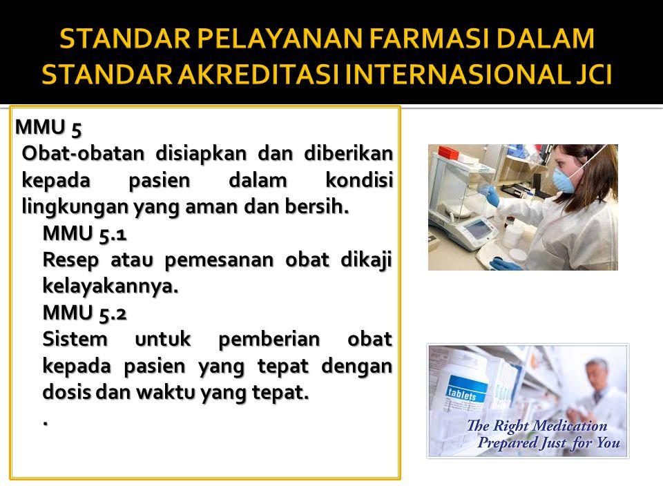 1.Ketepatan obat, dosis, frekuensi & route pemberian; 2.Duplikasi terapi 3.