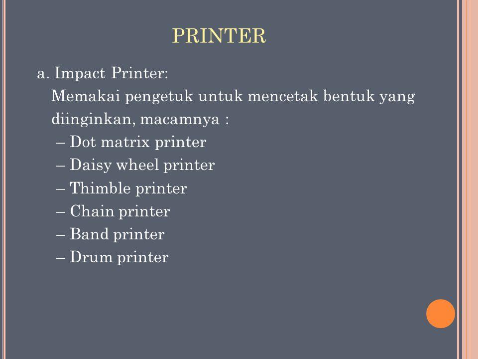 PRINTER a.