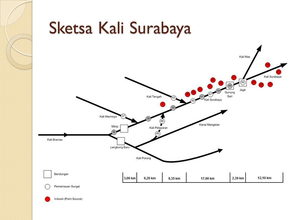 Sketsa Kali Surabaya