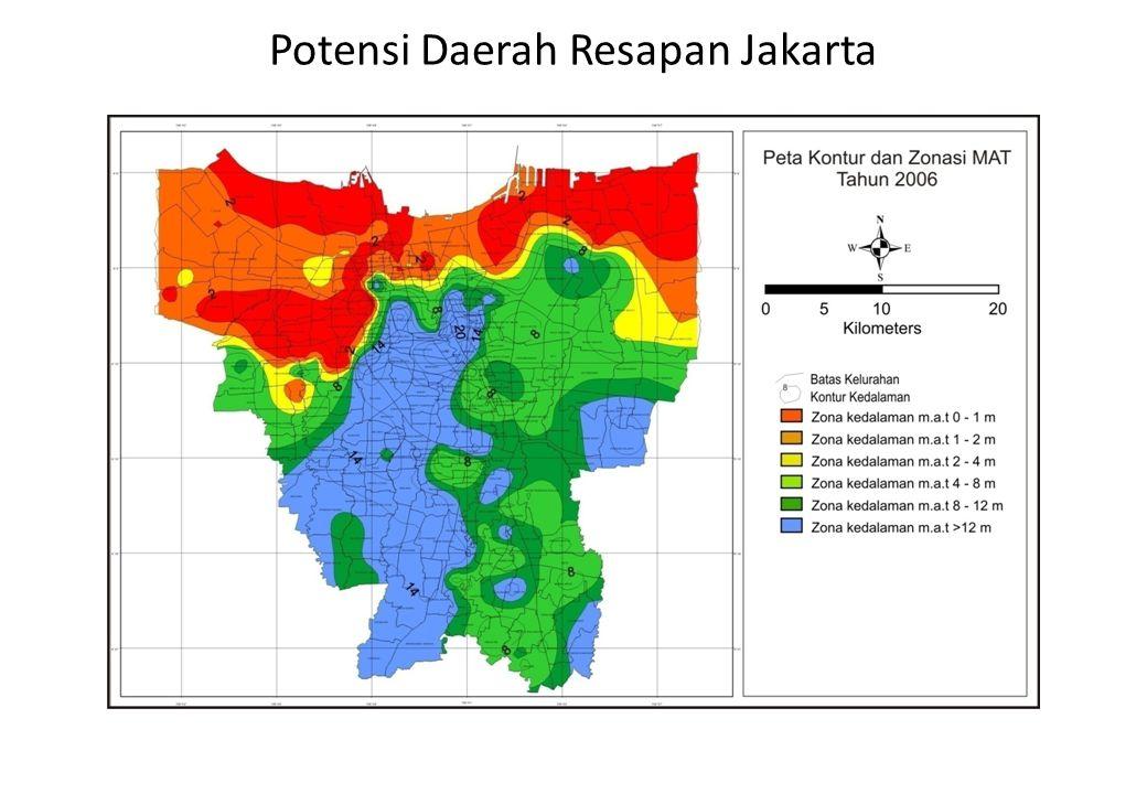 Potensi Daerah Resapan Jakarta