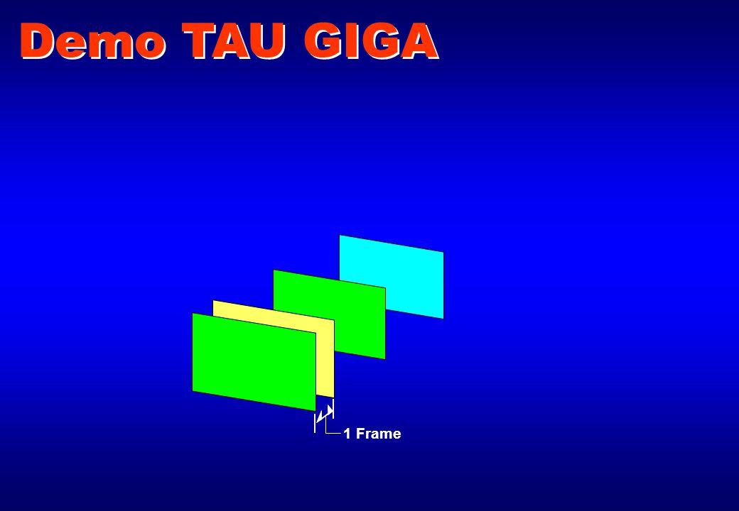 1 Frame Demo TAU GIGA