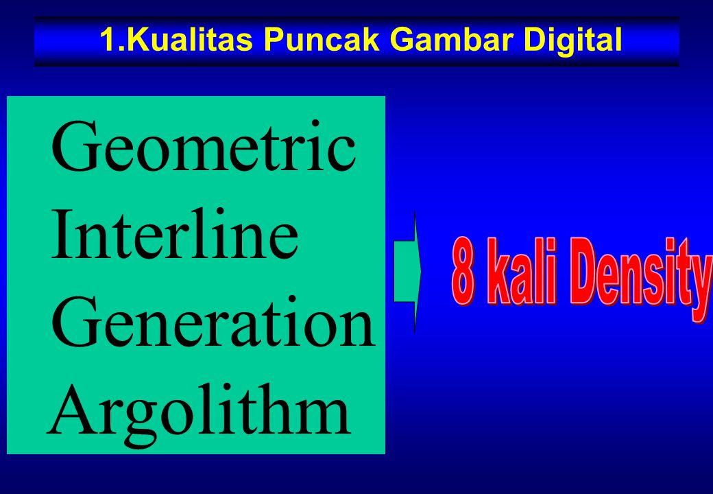 1.Kualitas Puncak Gambar Digital Geometric Interline Generation Argolithm