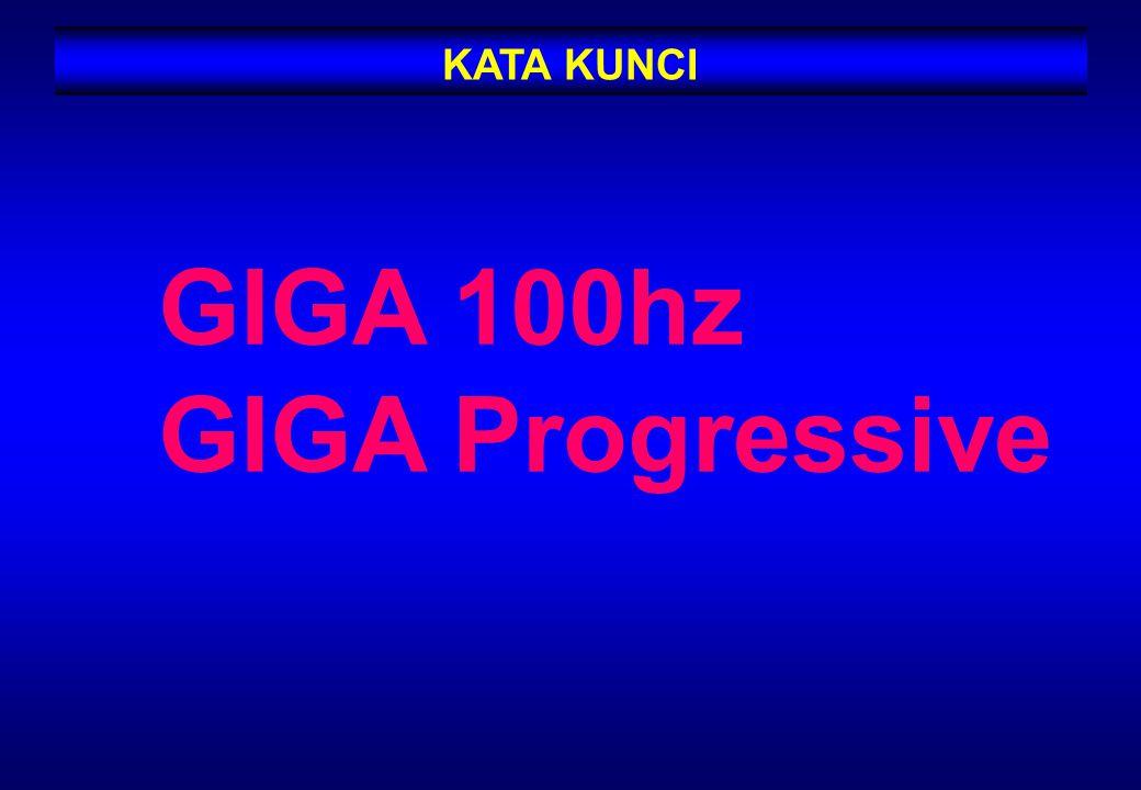 KATA KUNCI GIGA 100hz GIGA Progressive