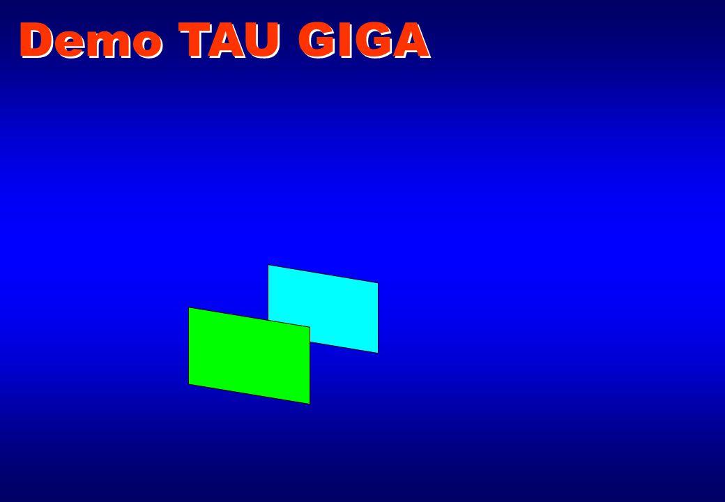 Demo TAU GIGA