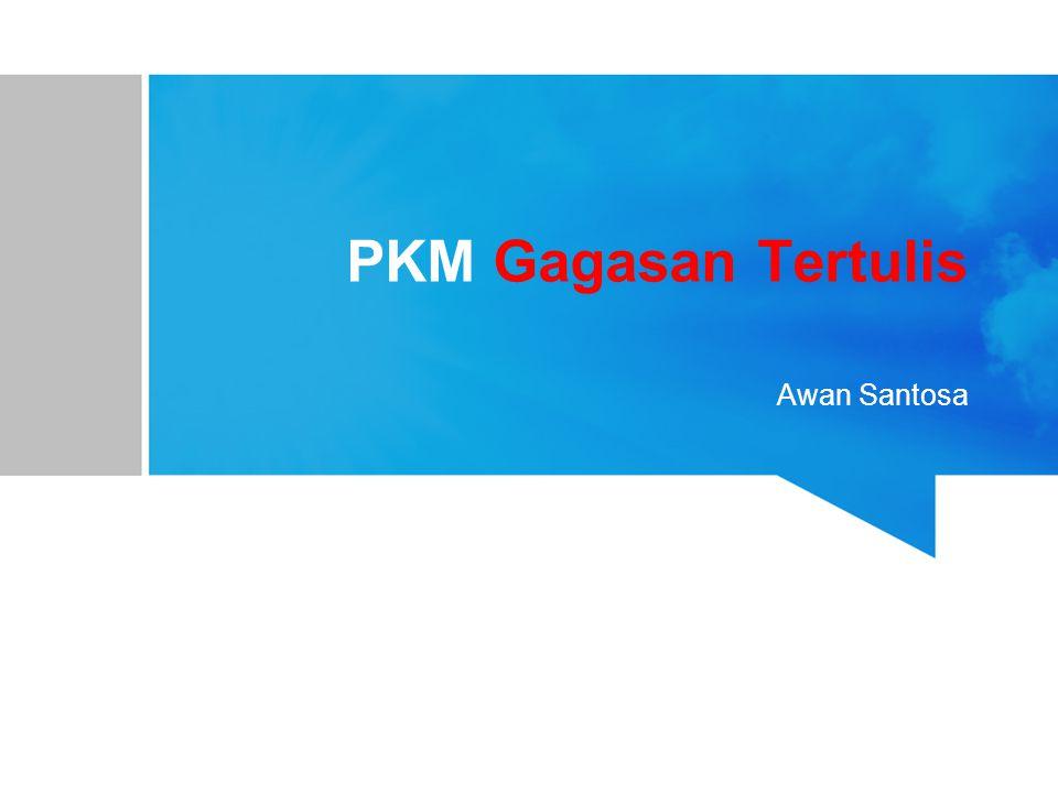 Esensi PKM-GT merupakan wahana mahasiswa dalam berlatih menuliskan ide-ide kreatif sebagai respons intelektual atas persoalan-persoalan aktual yang dihadapi masyarakat.