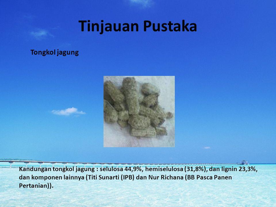 Metodologi Persiapan tongkol jagung Ekstraksi xilan dari tongkol jagung Produksi xilanase Pemurnian xilanase Karakterisasi xilanase