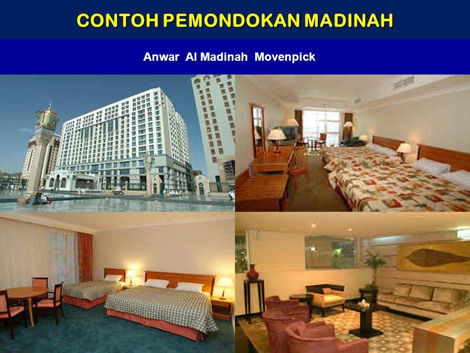 CONTOH PEMONDOKAN MADINAH Anwar Al Madinah Movenpick