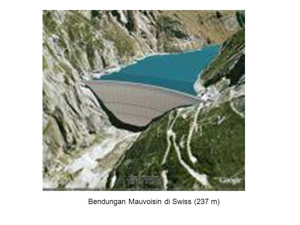 Bendungan Mica Kanada 242 meter