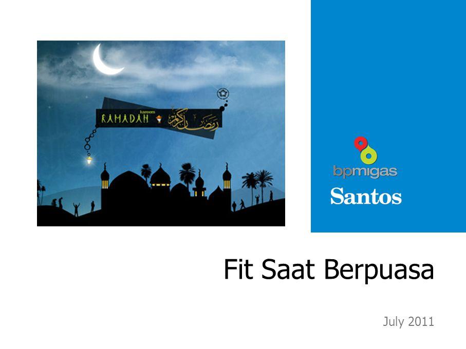 Fit Saat Berpuasa July 2011