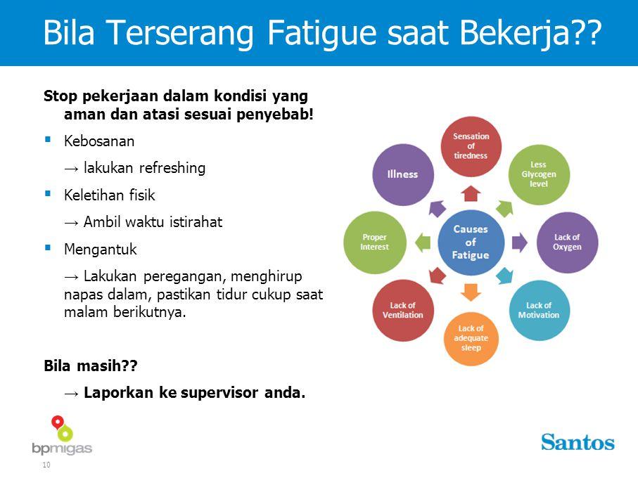 10 Bila Terserang Fatigue saat Bekerja .