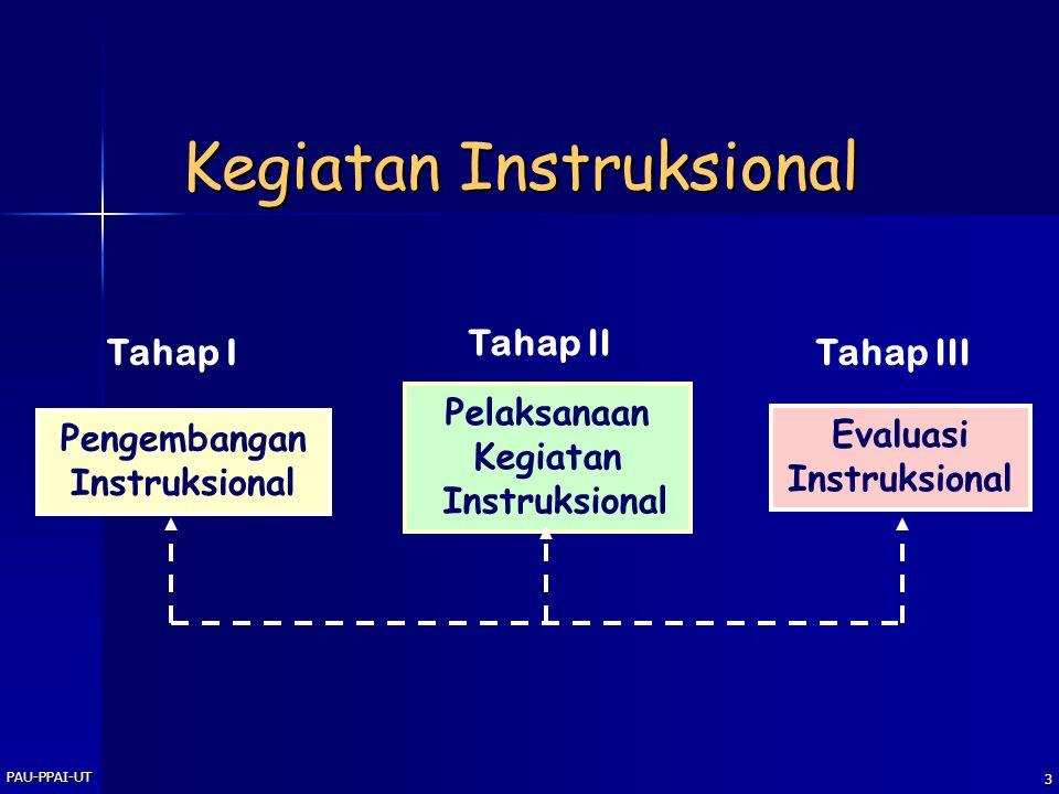 2 Tujuan Instruksional Umum Peserta pelatihan diharapkan dapat membuat desain instruksional untuk mata kuliah yang dibina Khusus Peserta pelatihan dih