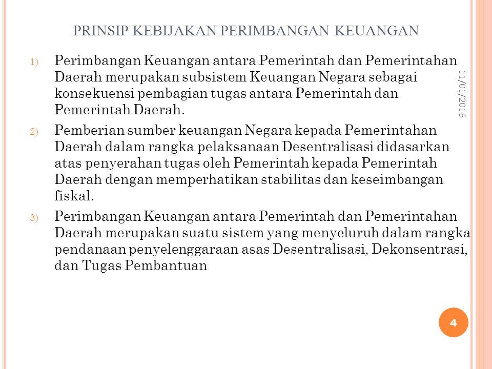 DASAR PENDANAAN PEMERINTAHAN DAERAH 1.Penyelenggaraan urusan Pemerintahan Daerah dalam rangka pelaksanaan Desentralisasi didanai APBD.