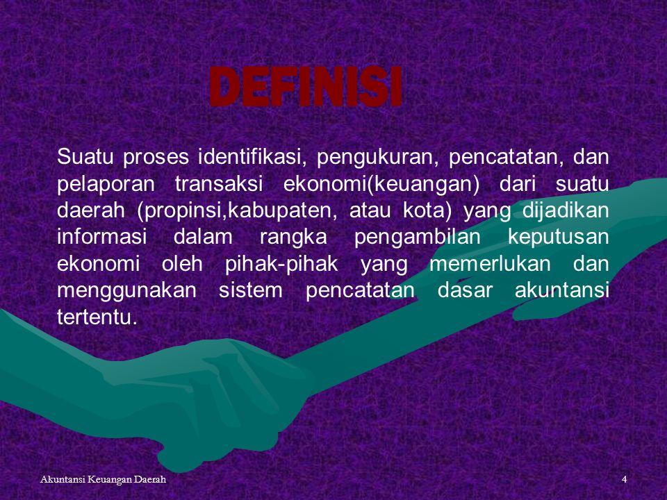 Akuntansi Keuangan Daerah15 1.Analisa Transaksi Keuangan 9.