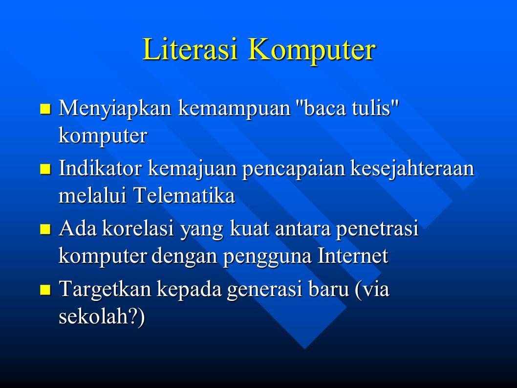 Literasi Komputer Menyiapkan kemampuan