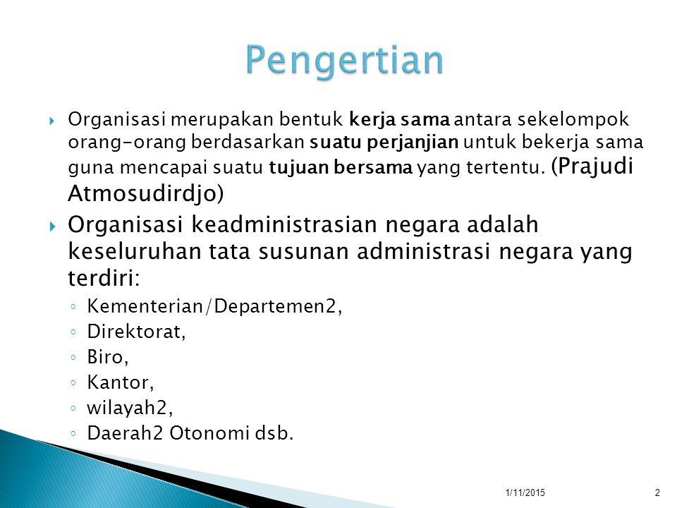  K.Presidentil  K. Syahrir I, II, III  K. Amir Syarifuddin I, II  K.