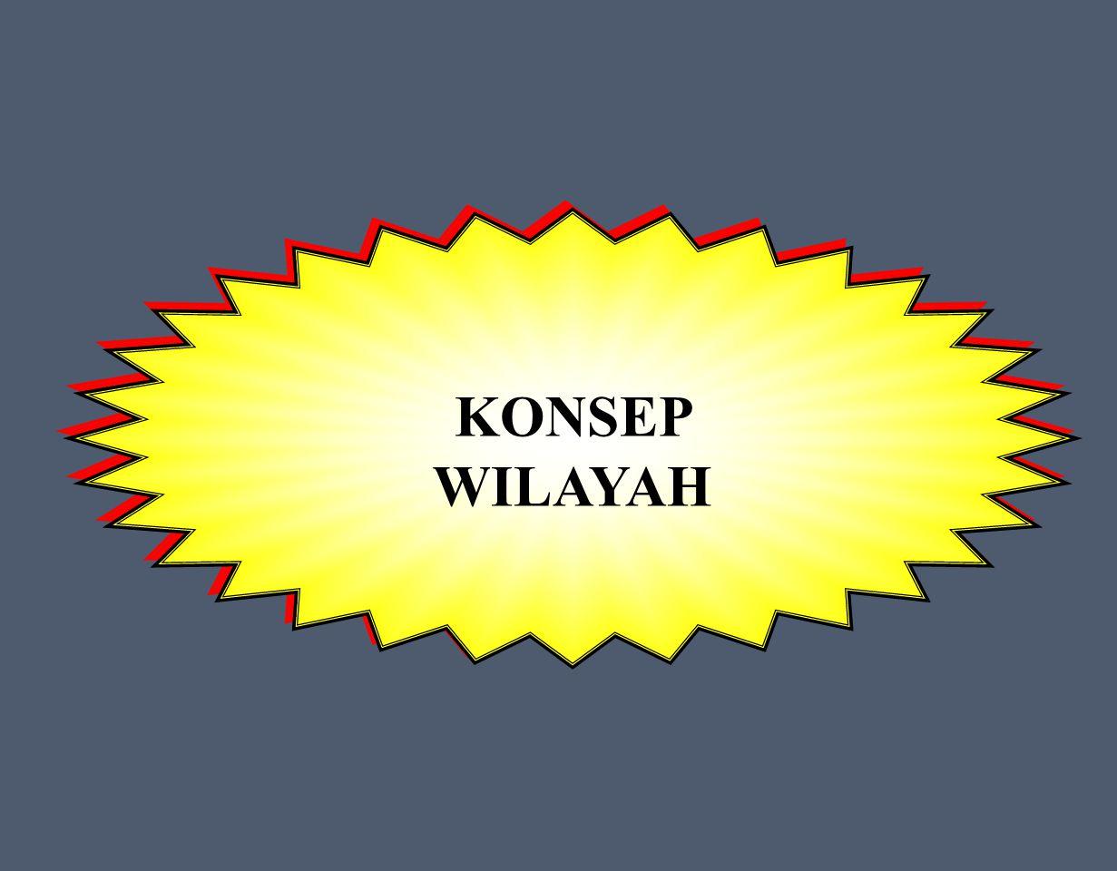 KONSEP WILAYAH KONSEP WILAYAH
