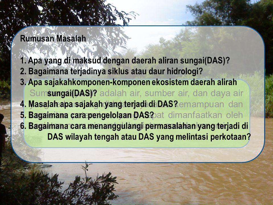 Secara prinsip, sasaran strategis pengelolaan potensi sumberdaya air adalah menjaga keberlanjutan dan ketersediaan potensi sumberdaya air melalui upaya konservasi (dilakukan melaui kegiatn perlindungan dan pelestarian sumber air, pengawetan air, pengelolaan kualitas air dan pengendalian pencemaran air) dan pengendalian kualitas sumber air baku.