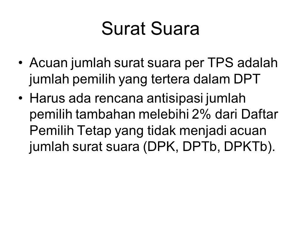 Proses Pengolahan Hasil Penghitungan Suara Pemilu 2014 TPS/KPPS Mencatat rekap hasil penghitungan suara ke dalam Form C-1 yang akan dikirim langsung ke KPU Kab/Kota melalui PPS.