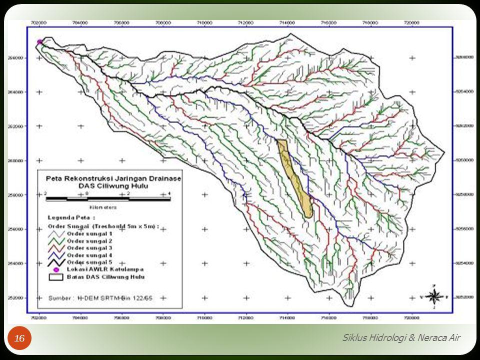 Siklus Hidrologi & Neraca Air 16