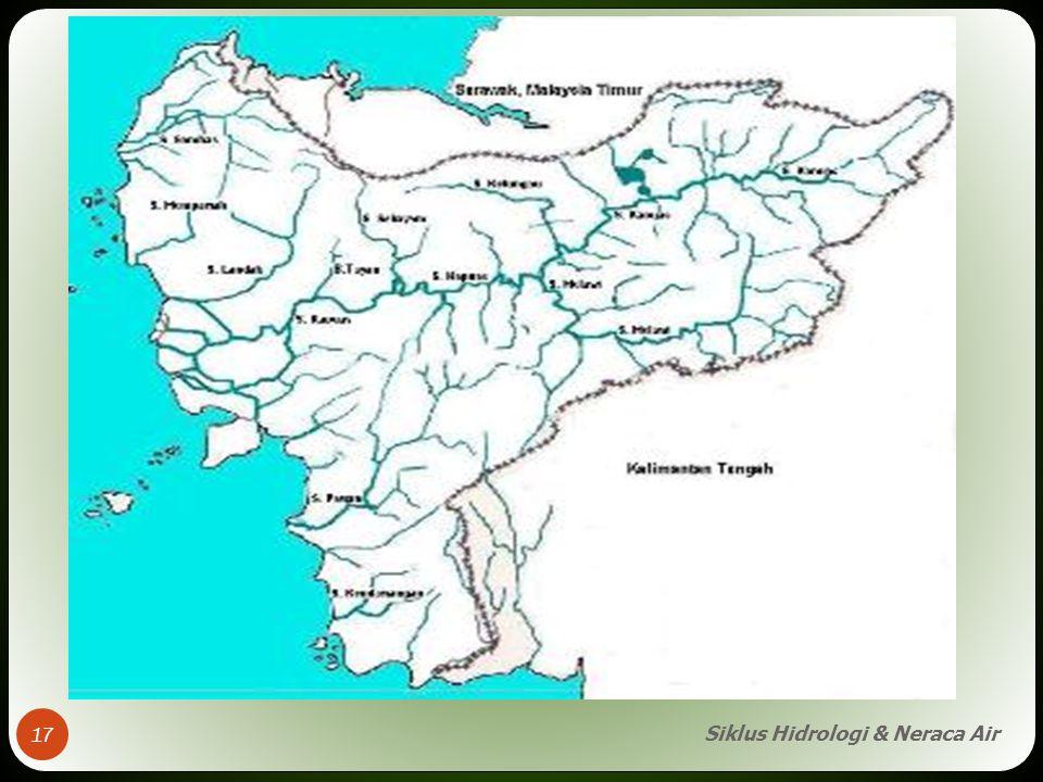 Siklus Hidrologi & Neraca Air 17