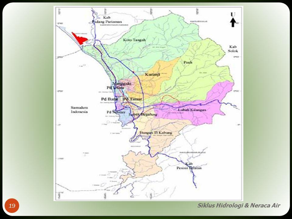 Siklus Hidrologi & Neraca Air 19