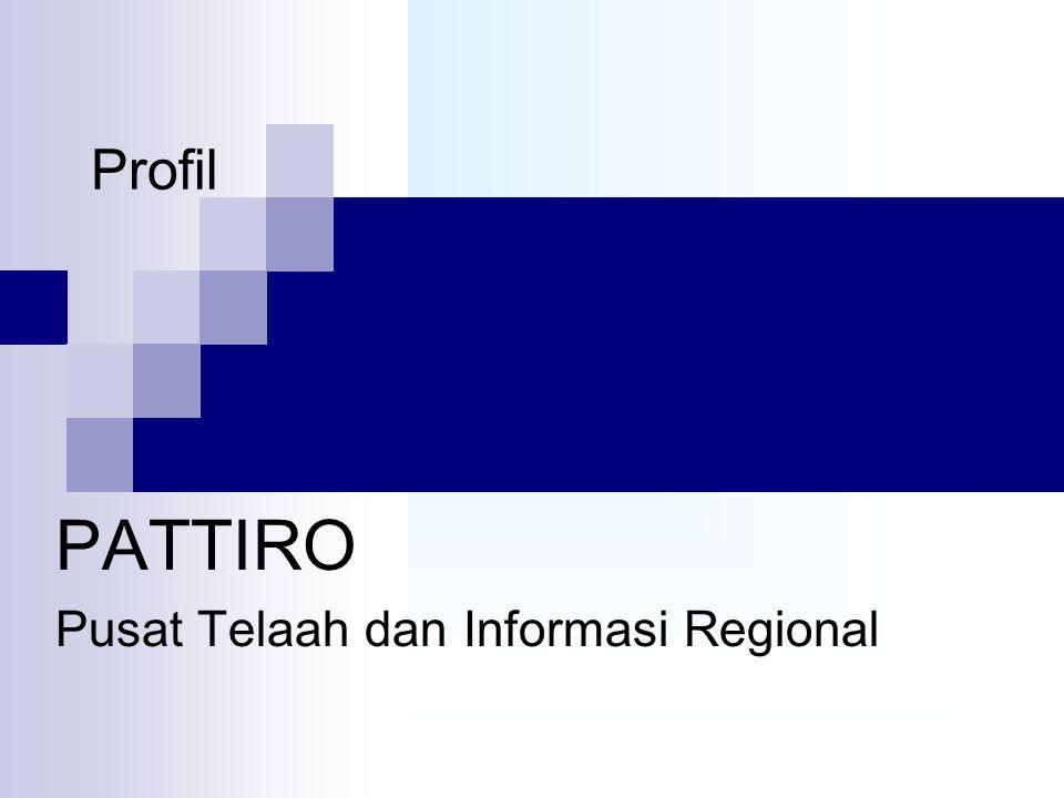 Profil PATTIRO Pusat Telaah dan Informasi Regional