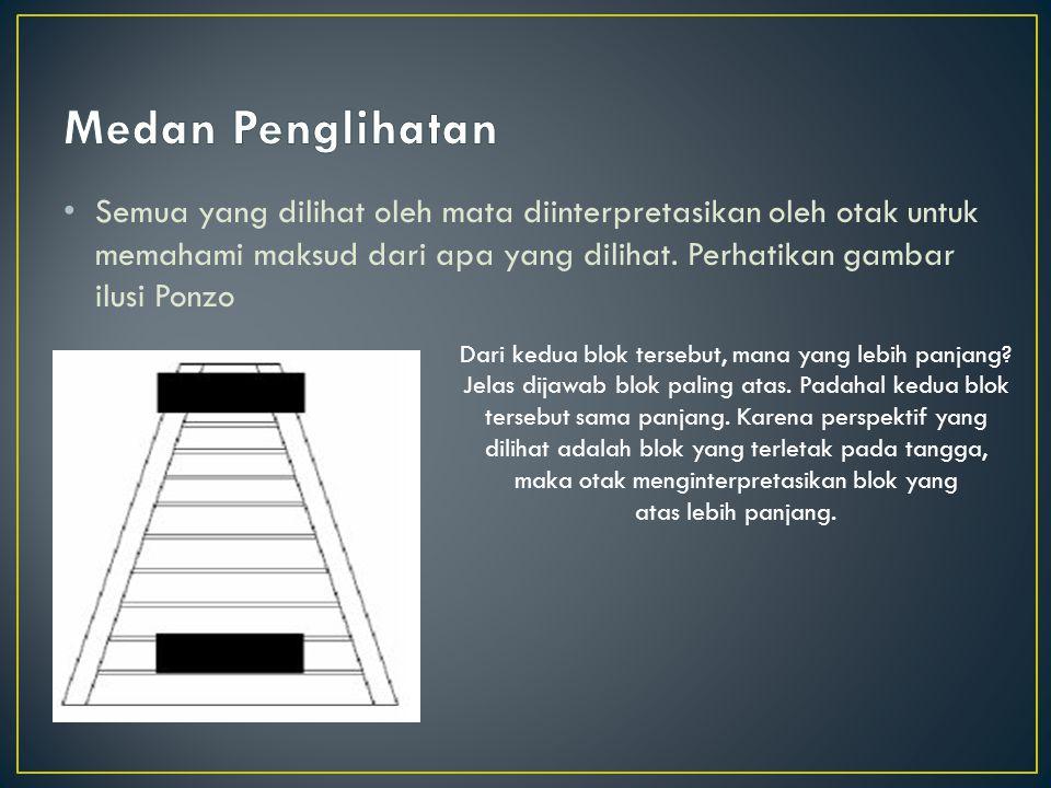 1.Penglihatan.