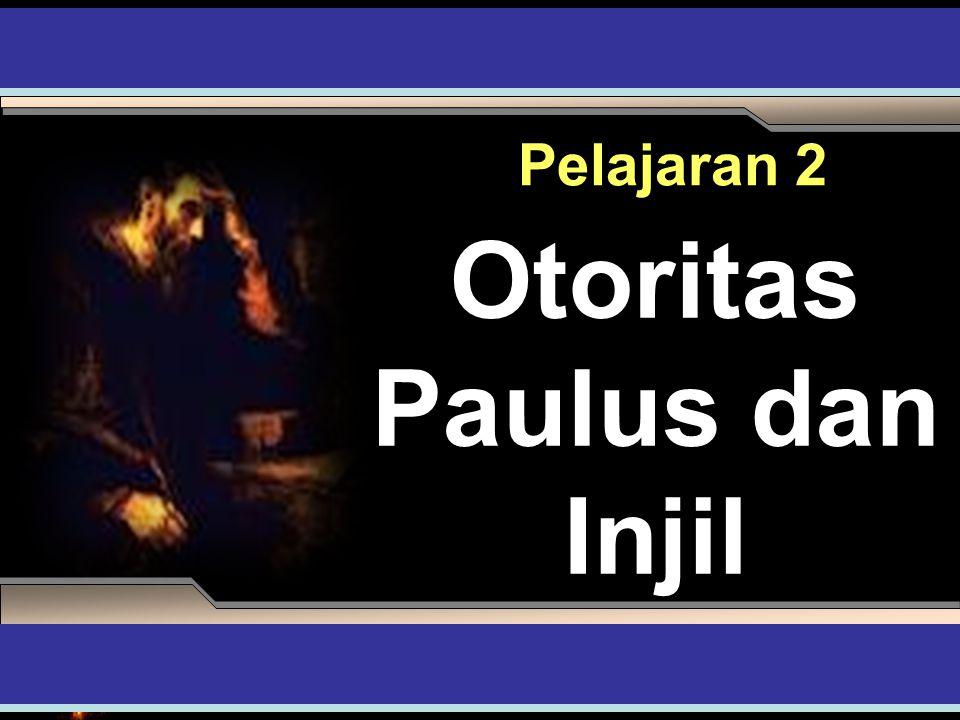 Apakah Aspek Penting dari Injil Paulus Dalam Galataia 1:1-6.