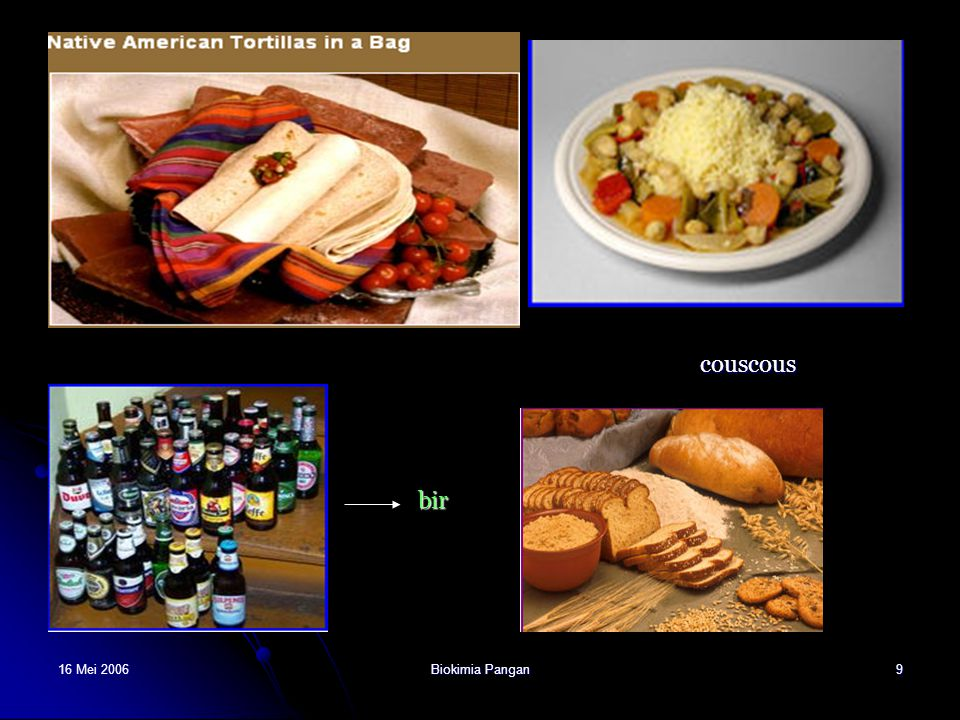 16 Mei 2006Biokimia Pangan10 PEMANFAATAN SORGHUM Sorghum baik untuk penderita obesitas dan diabetes