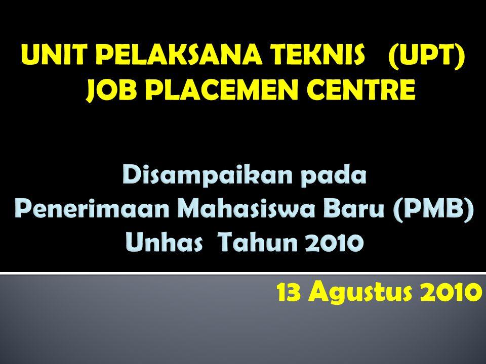 Dasar Pendirian UPT Job Placement Centre : Surat Keputusan Rektor No.