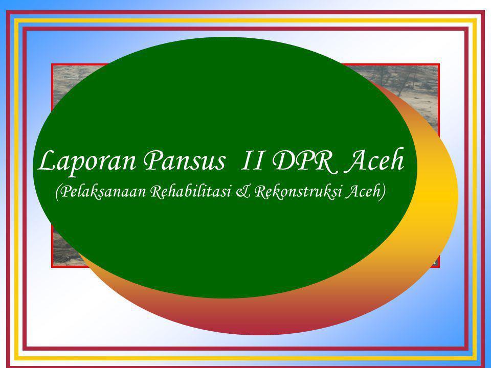 MJun …Penahapan Kegiatan Tahap V (Tahun 2009) Seluruh Pembangunan Prasarana dan Sarana Fisik telah dapat diselesaikan Fokus pada proses Capacity building dan transfer