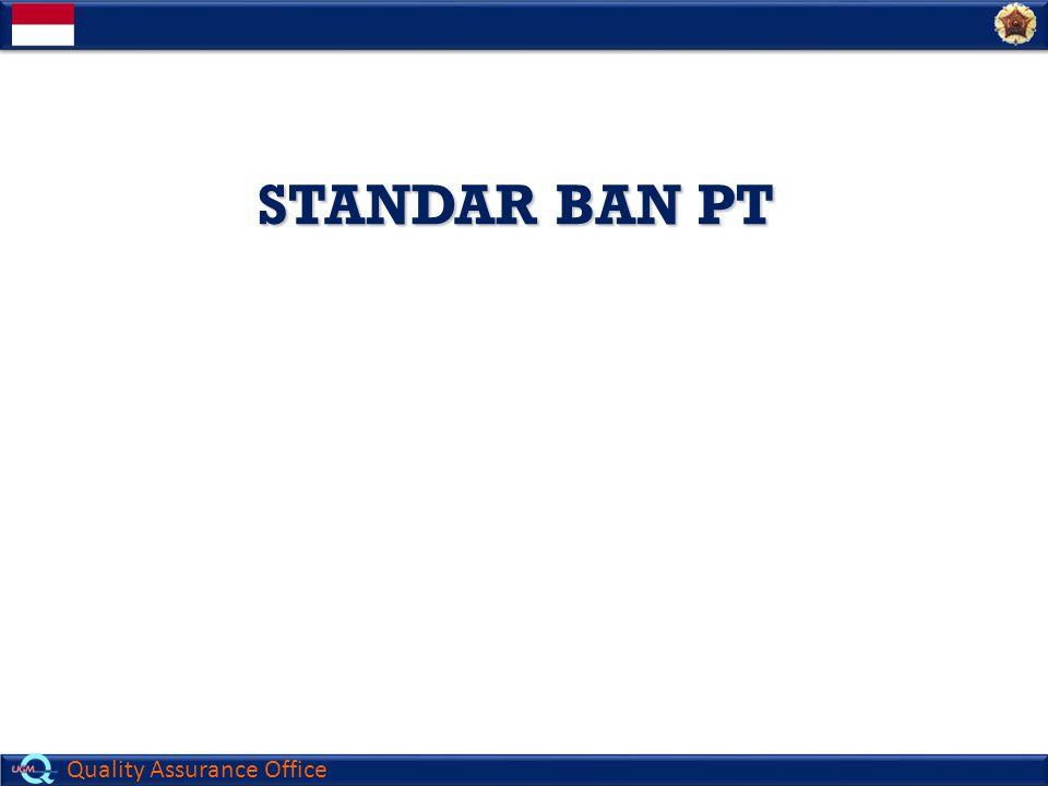 Quality Assurance Office STANDAR BAN PT