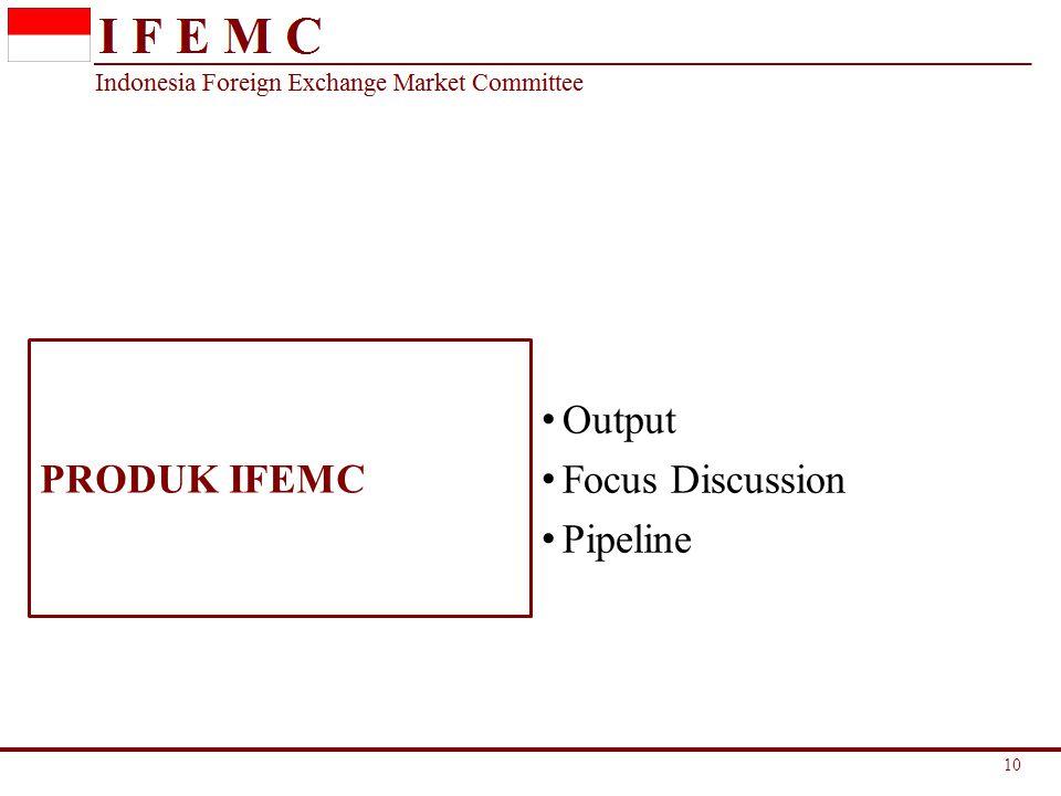 PRODUK IFEMC Output Focus Discussion Pipeline 10