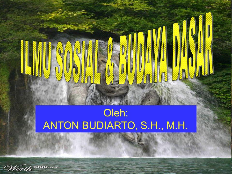 Oleh: ANTON BUDIARTO, S.H., M.H.