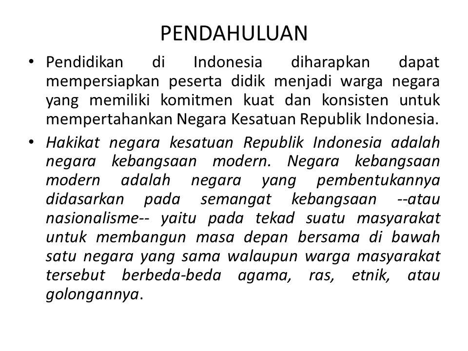 Ruang lingkup… Kebutuhan warga negara meliputi: Hidup gotong royong, Harga diri sebagai warga masyarakat, Kebebasan berorganisasi, Kemerdekaan mengeluarkan pendapat, Menghargai keputusan bersama, Prestasi diri, Persamaan kedudukan warga negara Konstitusi Negara meliputi: Proklamasi kemerdekaan dan konstitusi yang pertama, Konstitusi-konstitusi yang pernah digunakan di Indonesia, Hubungan dasar negara dengan konstitusi Kekuasan dan Politik, meliputi: Pemerintahan desa dan kecamatan, Pemerintahan daerah dan otonomi, Pemerintah pusat, Demokrasi dan sistem politik, Budaya politik, Budaya demokrasi menuju masyarakat madani, Sistem pemerintahan, Pers dalam masyarakat demokrasi
