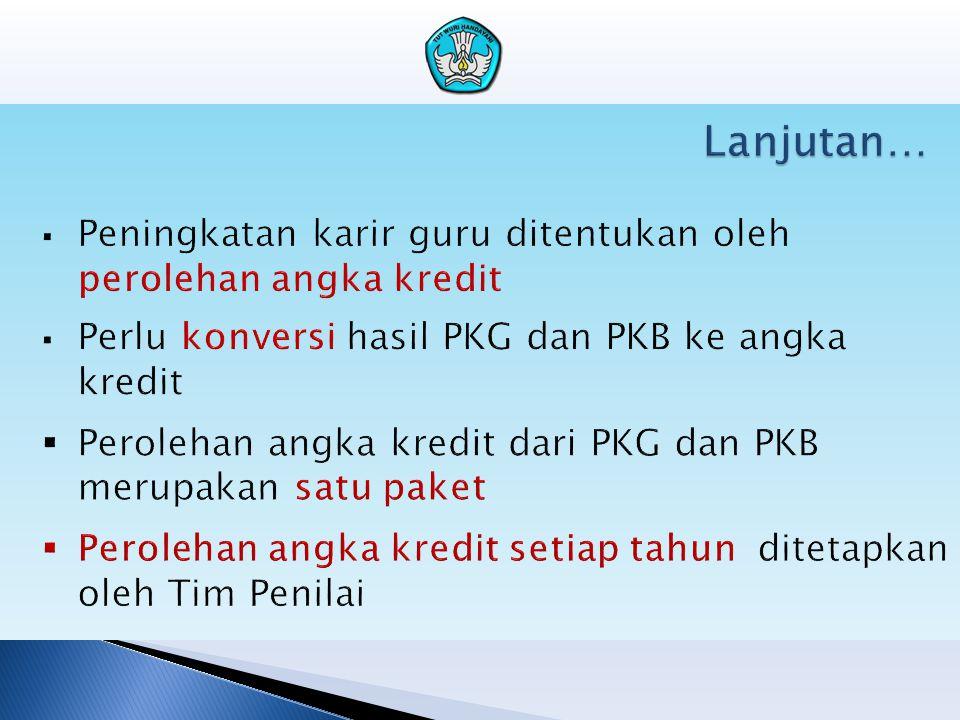 Mengapa perlu PKG?