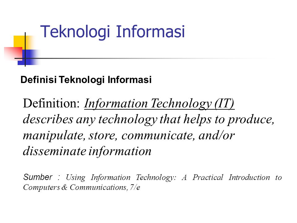 Elemen-elemen Komputer Elemen-elemen dari Komputer Hardware (Perangkat Keras) Software (Perangkat Lunak) Brainware (Operator/Programmer/System Analyst)