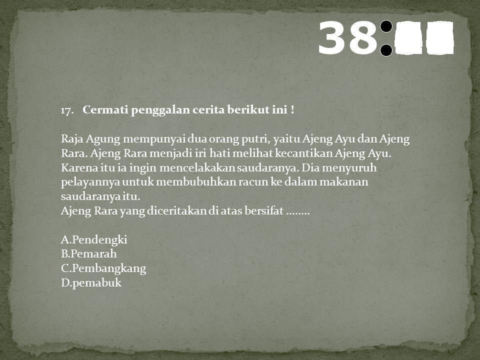 39 595857565554535251504948474645444342414039383736353433323130292827262524232221201918171615141312111009080706050403020100 16. Rina :