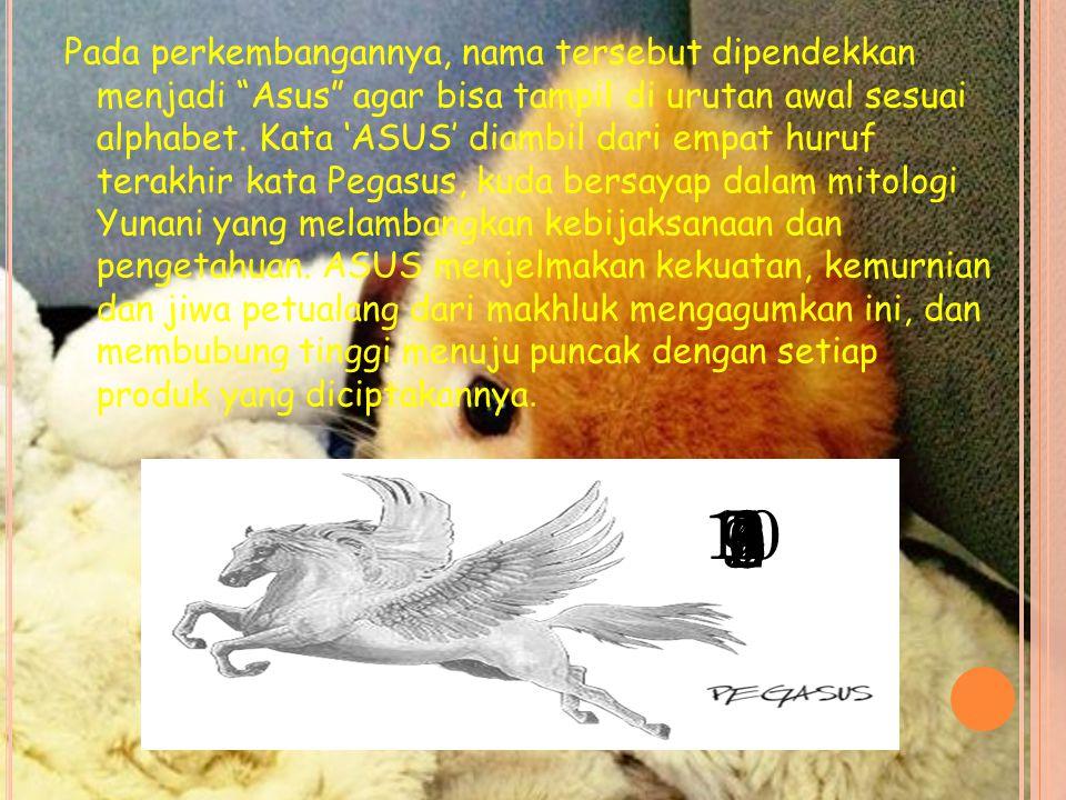Pada perkembangannya, nama tersebut dipendekkan menjadi Asus agar bisa tampil di urutan awal sesuai alphabet.