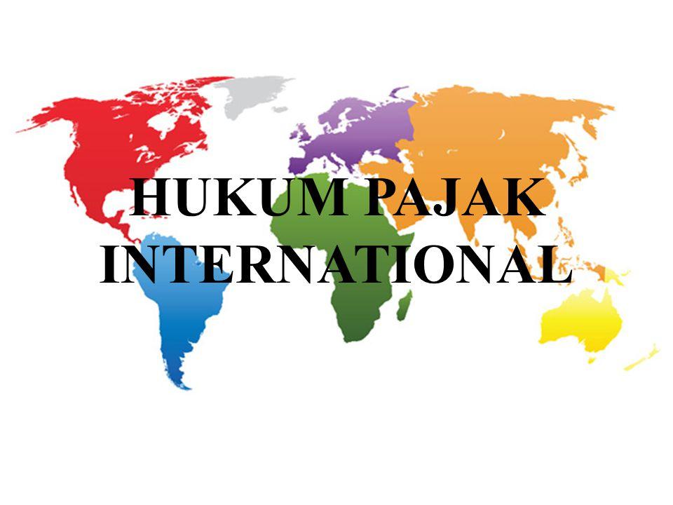 HUKUM PAJAK INTERNATIONAL