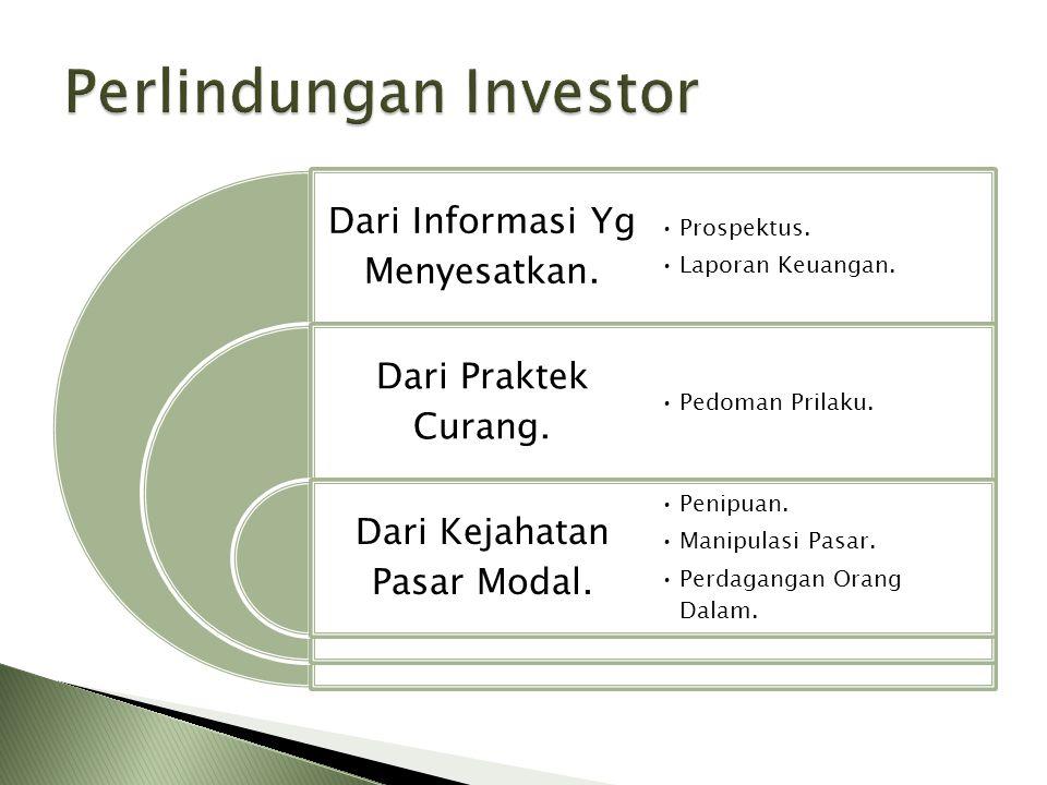Penipuan dan Penggelapan.Kehilangan Aset. Manipulasi Pasar & Insider Trading Kerugian Transaksi.