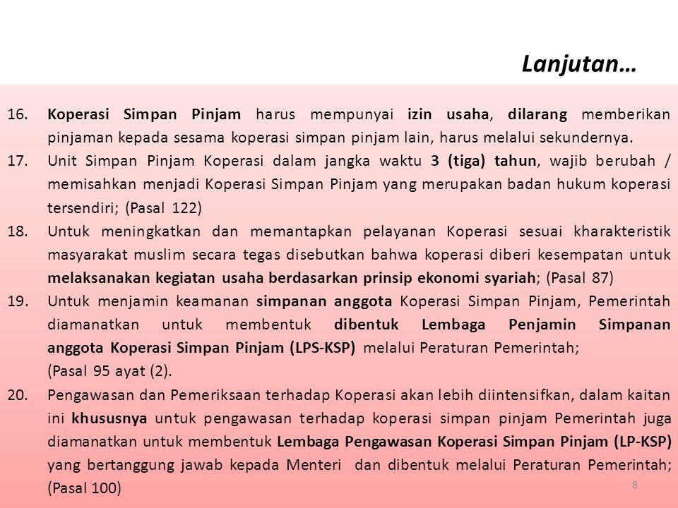III.Penyesuaian Struktur Modal / Keuangan 1.