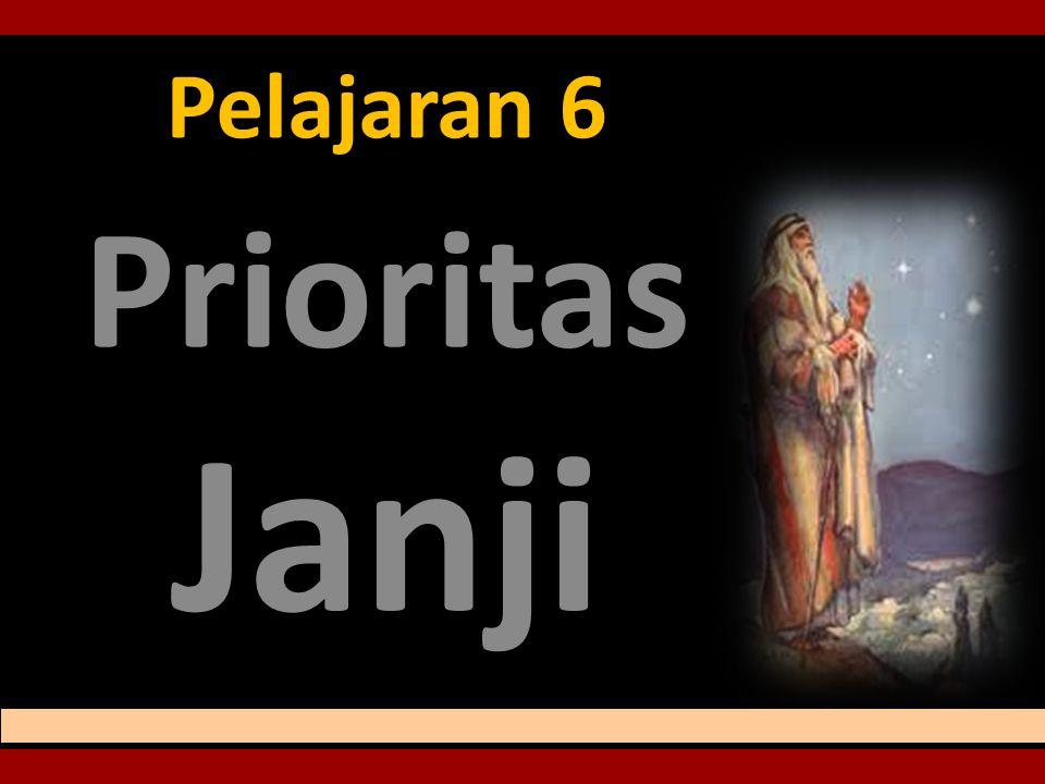Pelajaran 6 Prioritas Janji