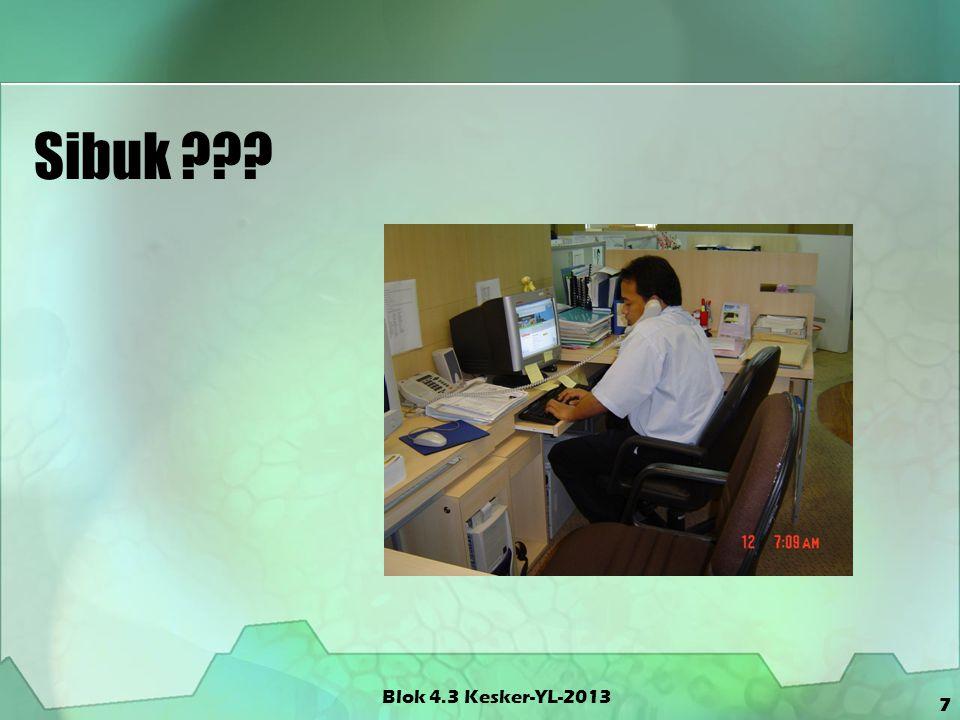 Dermatitis Kontak Blok 4.3 Kesker-YL-2013 18 Disebabkan oleh pelarut spt.