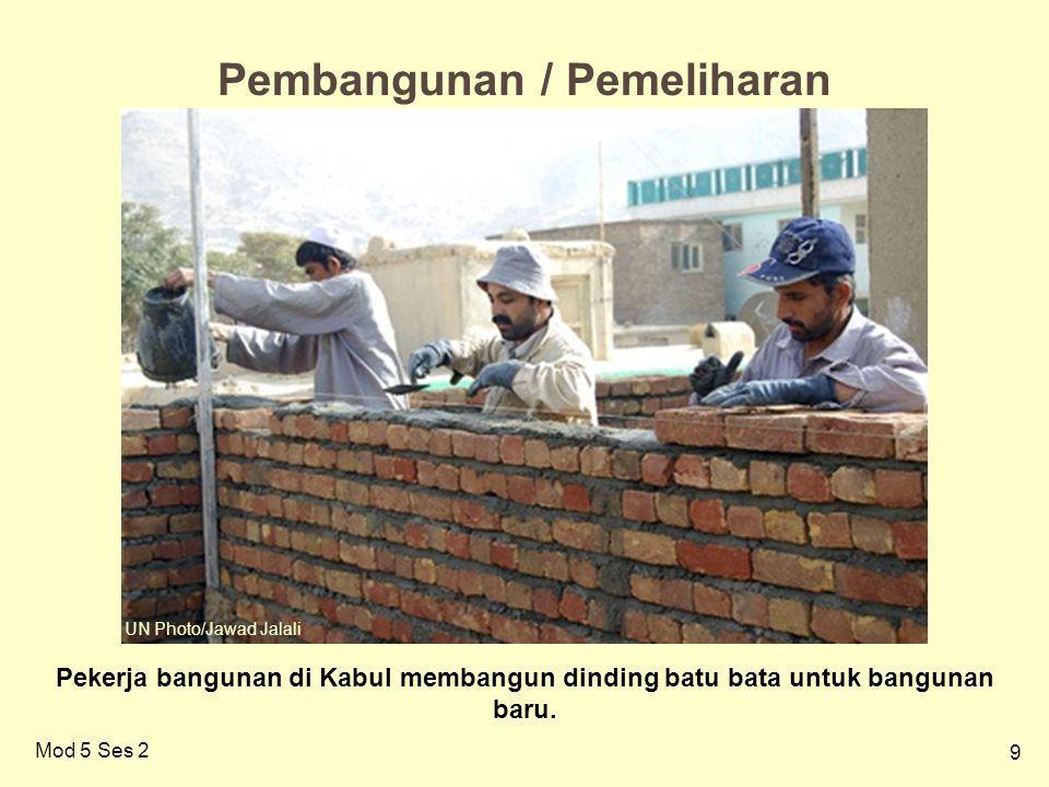 10 Mod 5 Ses 2 Penghancuran/pembuangan/pemakaian ulang…kembali ke asal Kehancuran akibat tsunami di Banda Aceh: bukankah mudah memanfaatkan kembali batu bata untuk rekonstruksi.