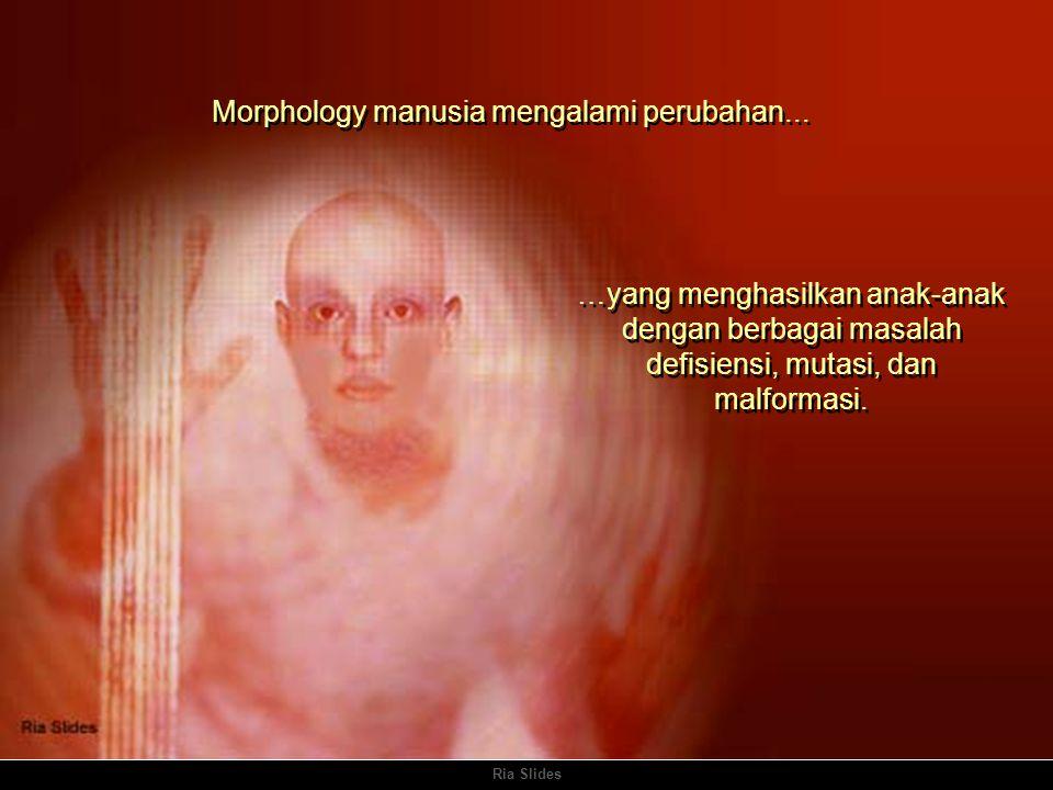 Ria Slides Morphology manusia mengalami perubahan...