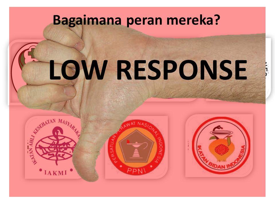 LOW RESPONSE Bagaimana peran mereka