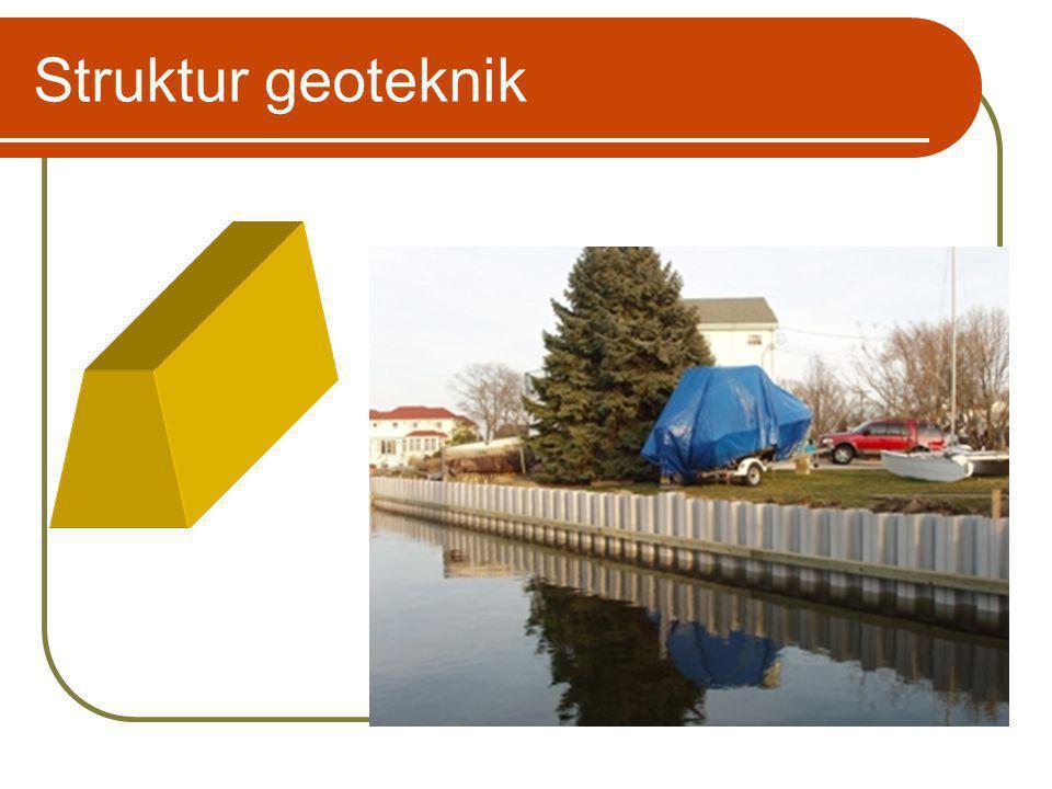 Struktur geoteknik